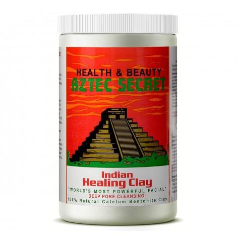 Aztec Secret - Indian Healing Clay - 2 lb. | Deep Pore Cleansing Facial & Body Mask | The Original 100% Natural Calcium Bentonite Clay
