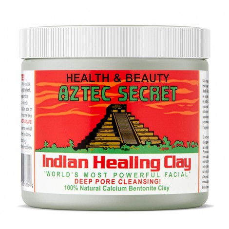 Aztec Secret - Indian Healing Clay - 1 lb. | Deep Pore Cleansing Facial & Body Mask | The Original 100% Natural Calcium Bentonite Clay