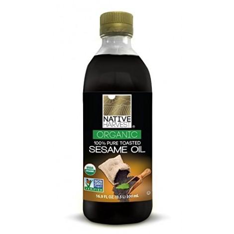 Native Harvest Organic Sesame Oil, 500ML (16 FL OZ)