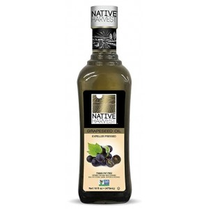 Native Harvest Non-GMO Grapeseed Oil 473ml (16 fl.oz)