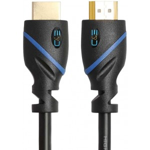 High Speed HDMI Cable CL3 Rated Ethernet, Supports (1.4 24AWG 4K x 2K) 24K gold case Full HD Latest Version