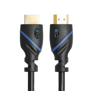 C&E® High HDMI Cable 100 Feet, with Built-in Signal Booster Supports 3D & Audio Return Channel Full HD, CNE40506