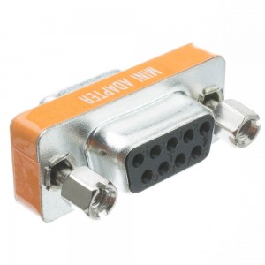 Cblwhl Mini DB9 Female/Female Adaptor