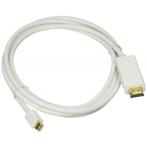 C&E® Mini_Dis-HDMI-CB6 Mini DisplayPort to HDMI Adapter Cable, 6 feet