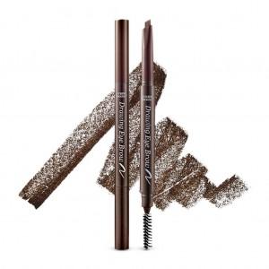 ETUDE HOUSE Drawing Eye Brow 0.25g #3 Brown - Long Lasting Eyebrow Pencil. Soft Textured Natural Daily Look Eyebrow Makeup