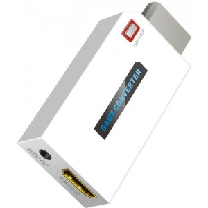 C&E® Mini Wii to HDMI mini 720P / 1080P HD Output Upscaling Converter