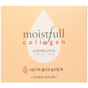 Etude House Moistfull Collagen Sleeping Pack, 3.38 Ounce