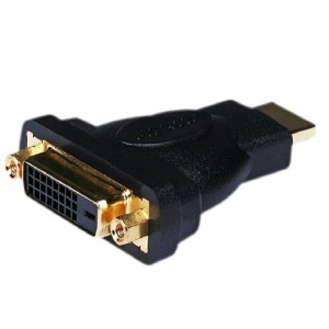 C&E® CNE61907 DVI Female to HDMI Male Adapter, Gold
