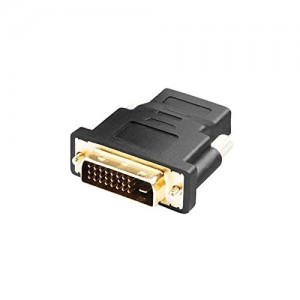 C&E® HDMI Female to DVI-D Male Adapter Black, CNE63195