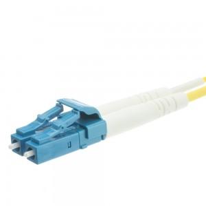 Fiber Optic Cable, LC/LC, Singlemode, Duplex, 9/125, 25 Meter (82 Foot)