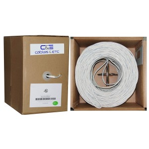 C&E® 500 feet 16AWG 4 Conductor Solid Copper, Oxygen-Free Speaker Wire Cable