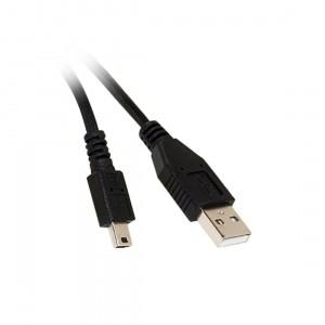 C&E® 15-Feet USB 2.0 A Male To Mini-B Male - Black (CNE75433)