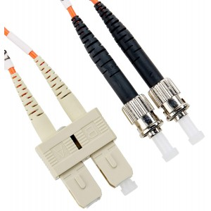 C&E® SC/ST 10-Meters Multimode Duplex Fiber Optic Cable 62.5/125, (CNE74252)