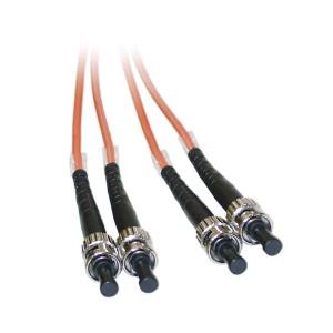 C&E® ST/ST 10-Meters Multimode Duplex Fiber Optic Cable 62.5/125, (CNE74443)