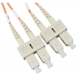 C&E® SC/SC 10-Meters Multimode Duplex Fiber Optic Cable 50/125, (CNE73835)