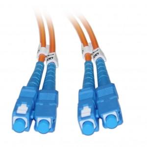 C&E® SC/SC 2-Meters Multimode Duplex Fiber Optic Cable 62.5/125, (CNE73873)