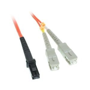 C&E® MTRJ/SC 5-Meters Multimode Duplex Fiber Optic Cable 62.5/125, (CNE73545)