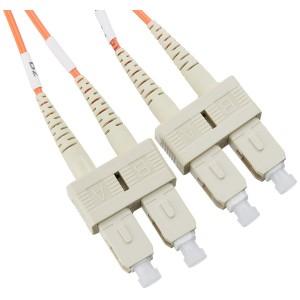 C&E® SC/SC 20-Meters Multimode Duplex Fiber Optic Cable 62.5/125, (CNE73934)