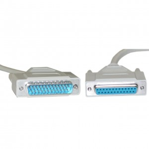 DB9 Female Serial Cable, DB9 Female, UL rated, 9 Conductor, 1:1, 15 foot