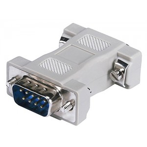 C&E® CNE35298 Null Modem Adapter, DB9 Male to DB9 Male