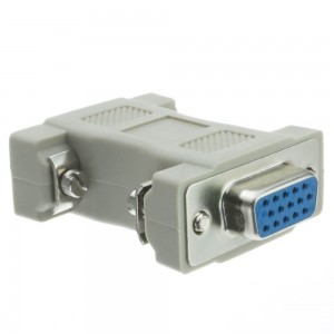 C&E® CNE35311 Null Modem Adapter, DB9 Female to DB9 Female