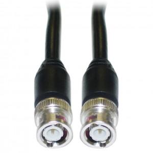 C&E® CNE40803 12-Feet BNC RG59/U Coaxial Cable, BNC Male, Black