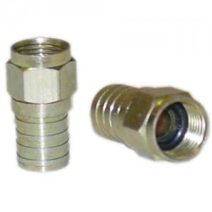 C&E® CNE42104 RG6 F-Pin Crimp Connector