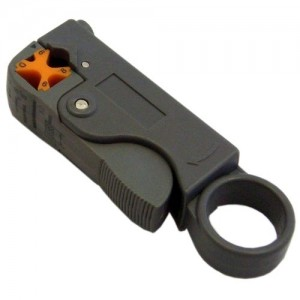 C&E® CNE42081 Coaxial Cable Stripper, RG58, RG59 and RG6