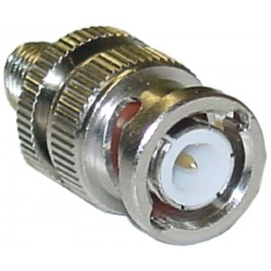 C&E® CNE41817 SMA Female to BNC Male Adapter