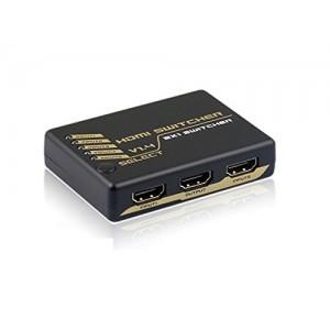 C&E® HDMI Intelligent Mini Switch 5X1 v1.4 Supports 3D 4Kx2K CNE47837