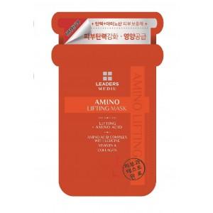 LEADERS MEDIU Amino Lifting Mask, 10 Sheets, 1.76 Ounce