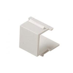 C&E® CNE54316 Keystone Blank Insert, White