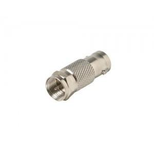 C&E® BNC Jack to F Plug Adapter CNE53234