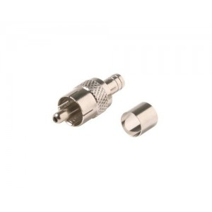 C&E® CNE53159 RCA Hex Crimp Connector RG59