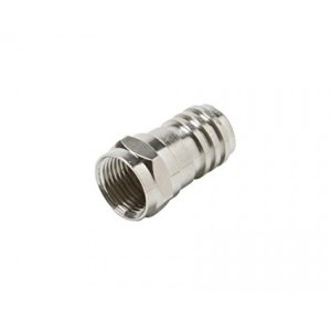 C&E® CNE52985 F Hex Crimp Connector RG6