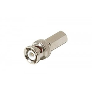 C&E® CNE55153 BNC Twist-On Connector RG6