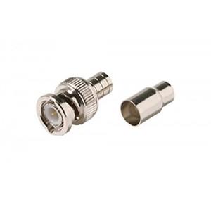 C&E® CNE55184 BNC Hex Crimp Connector 2-Piece RG59