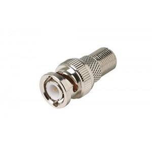 C&E® CNE55177 F Jack to BNC Plug Adapter