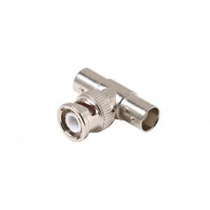 C&E® CNE55320 2-BNC Jack to BNC Plug T Adapter