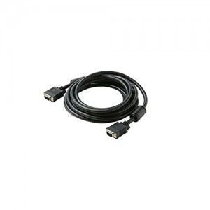 C&E® 15 Feet, SVGA HD15 (M/M) Cable, Black, CNE425486