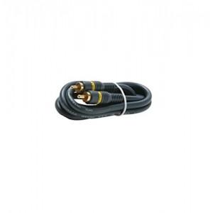 C&E® CNE426650 25 Feet 1-RCA Audio/Video Cable, Black