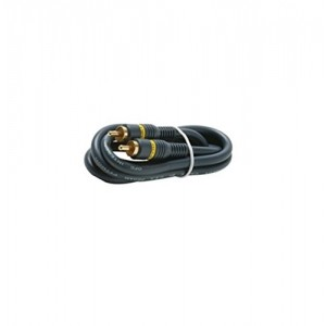 C&E® CNE426735 75 Feet 1-RCA Audio/Video Cable, Black