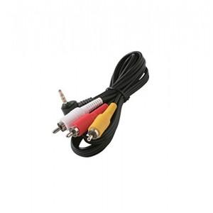 C&E® CNE430824 6-Feet 3.5mm Plug to 3-RCA Plug Camcorder Patch Cord