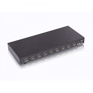 C&E® HDMI Splitter 1X8 Supports 3D