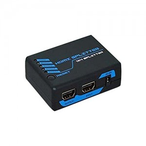 C&E® HDMI Mini Splitter 1X4 Supports 3D