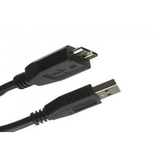 C&E® USB 3.0 A Male to Micro B cable 10 Feet Black, CNE467523