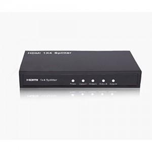 C&E® HDMI Splitter 1X4 Supports, 3D, CNE545530