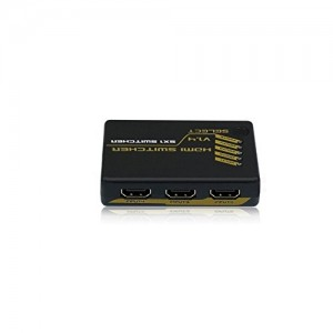 C&E® HDMI Intelligent Mini Switch 5X1 v1.4 Supports 3D 4Kx2K CNE551913