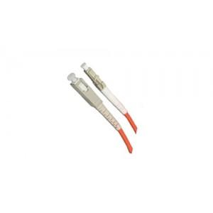 C&E® CNE624082 SC/LC Simplex, Multimode, 62.5/125 Fiber Optic Patch Cord, Orange, 1 Meter