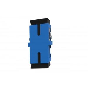 C&E® CNE630328 SC to UPC Single Mode, Simplex Adaptor Without Flange, Ceramic Sleeve, Blue Color